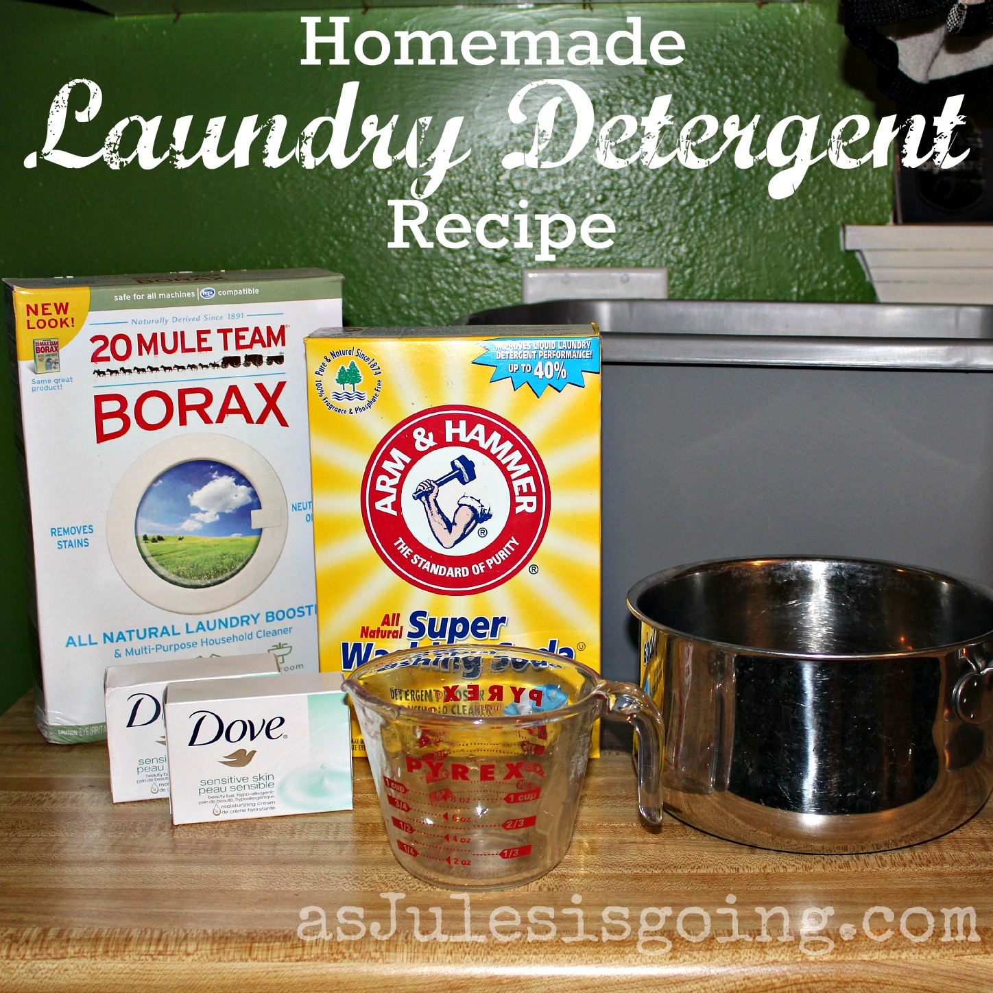 how to make your own laundry detergent duggars
