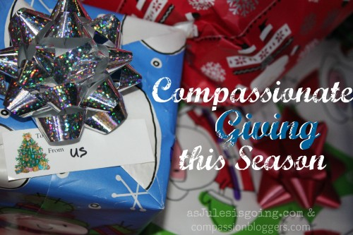 compassionate giving this season