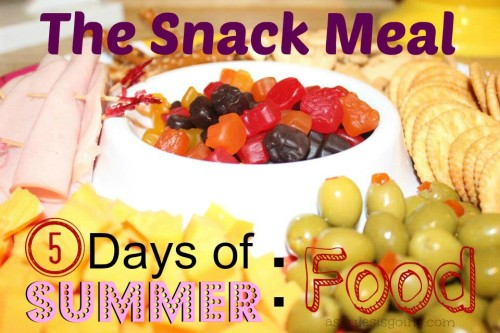 The Snack Meal on 5 Days of Summer (little style) Food
