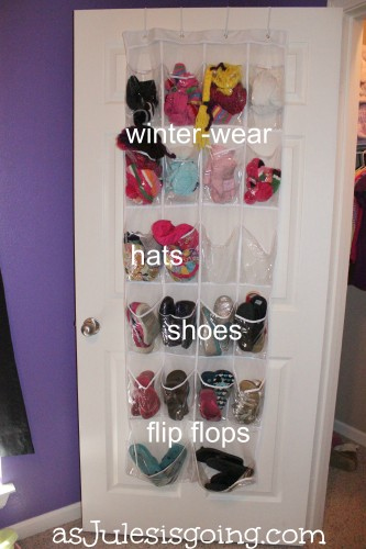 Girls' Room Closet Door