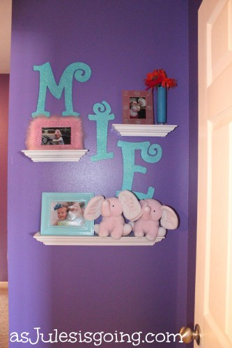 Girls' Room Decor Wall
