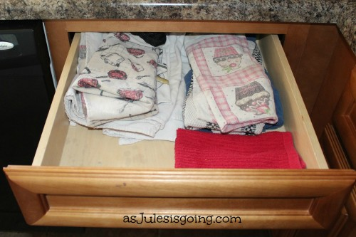 Hand Towel Drawer