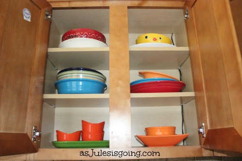 Serving Dishes Cabinet