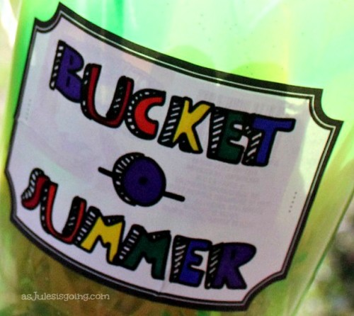 Bucket-O-Summer Label