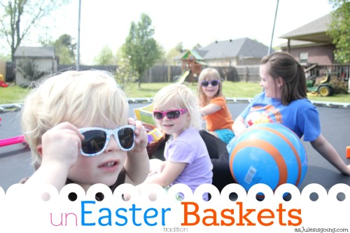 an unEaster Basket tradition