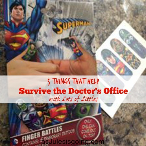 5 Things that Help  Survive the Doctor's Office  with Lots of Littles 2 thumb wars