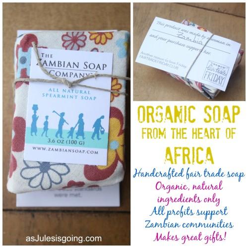 Zambian Organic Soap