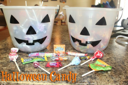 Examples of HARD Halloween Candy that you can get rid of by using in Operation Christmas Child Boxes